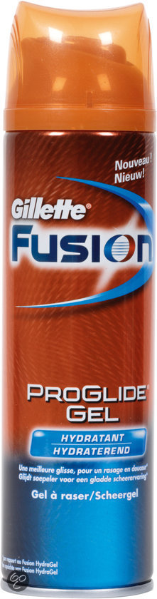 Gillette Fusion ProGlide Hydrating - 200 ml - Scheergel