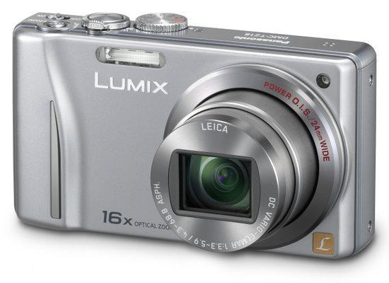 Panasonic Lumix DMC-TZ18 - Zilver