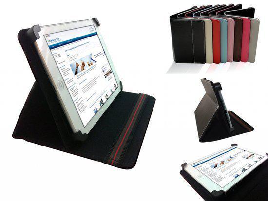 Hoes voor de Toshiba Excite 10le , Multi-stand Case, Zwart, merk i12Cover in Nijeholtwolde / Nijeholtwâlde