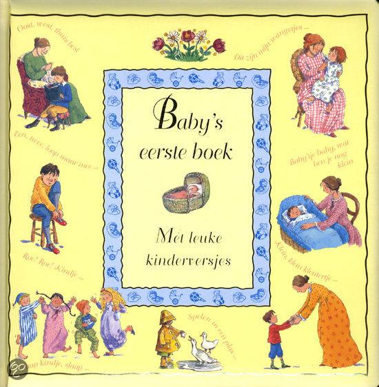 Baby's eerste boek, met kinderversjes
