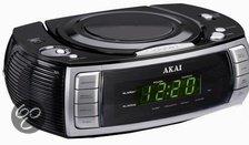 Akai ARC120BK - klokradio met CD-speler - Zwart