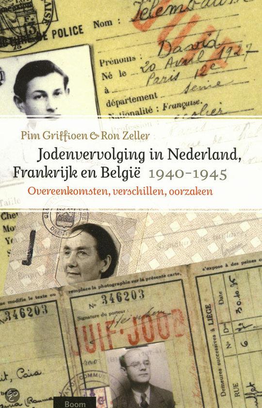 Jodenvervolging in Nederland, Frankrijk en Belgie, 1940-1945
