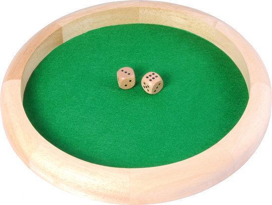 Afbeelding van het spel Dobbelpiste 29cm incl. 2 dobbelstenen
