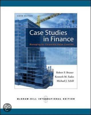 case study in finance bruner
