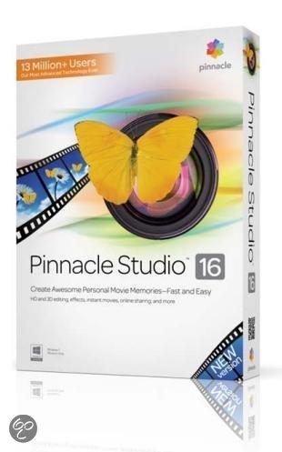 Pinnacle Studio 16 - Nederlands / Frans