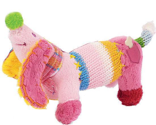 Hond Dinkey no. 1 roze