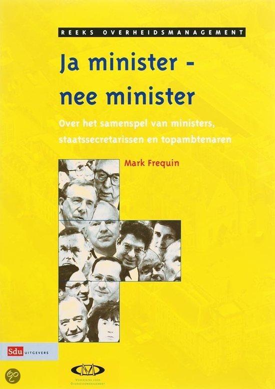 Ja Minister, Nee Minister