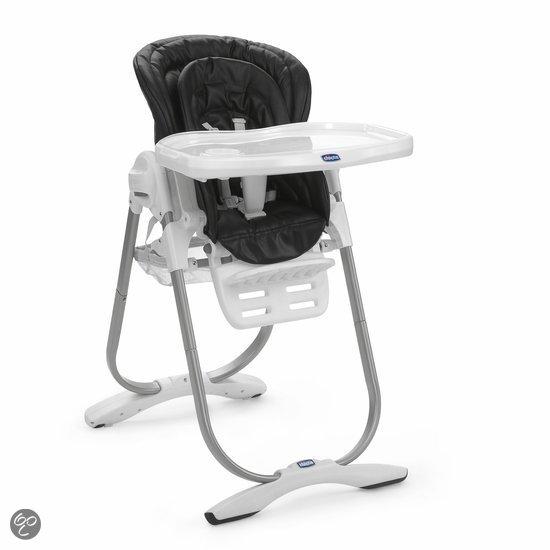Chicco - Polly Magic Kinderstoel - Zwart