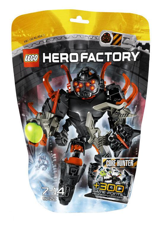 LEGO Hero Factoy Core Hunter - 6222