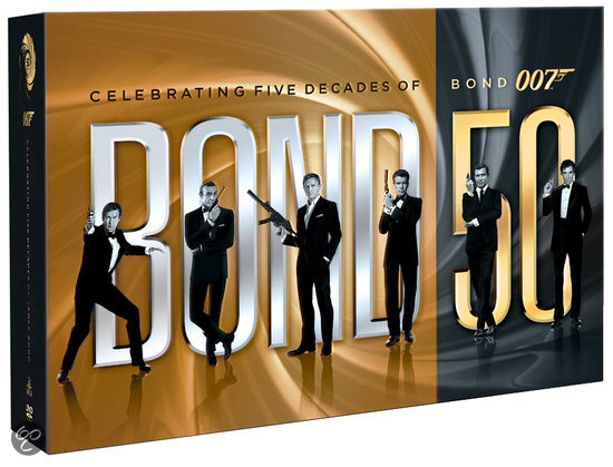 James Bond - 50th Anniversary Dvd Collection