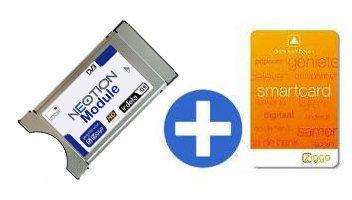 Neotion CAM module 1.2 met Ziggo smartcard