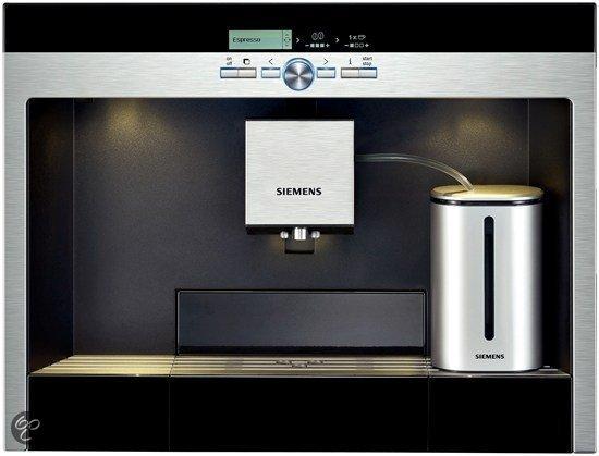 siemens tk76k573 inbouw volautomaat espressomachine. Black Bedroom Furniture Sets. Home Design Ideas