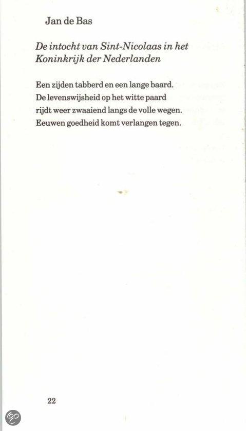Bol Com Sinterklaas Jan De Bas 9789041740663 Boeken