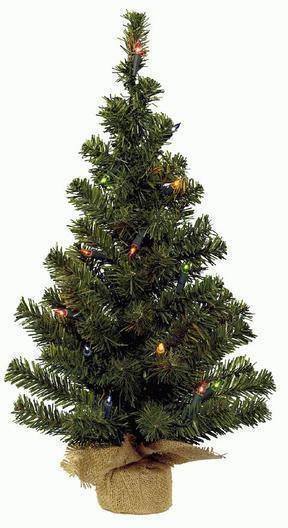 Kunstkerstboom inclusief verlichting 60 cm for Bol com verlichting