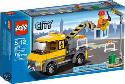 LEGO City Reparatietruck - 3179