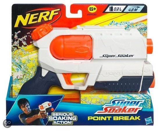 Nerf Super Soaker Point Break - Waterpistool