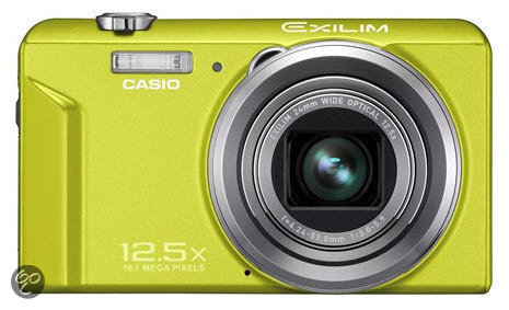 Casio Exilim EX-ZS150 - Groen