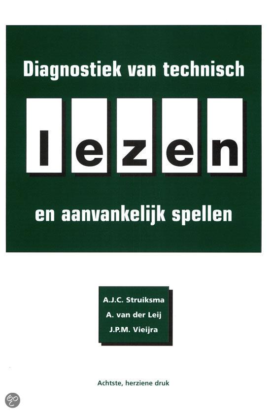 Diagnostiek van technisch lezen en aanvankelijk spellen / druk 8