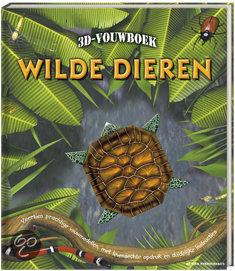 3d vouwboek wilde dieren