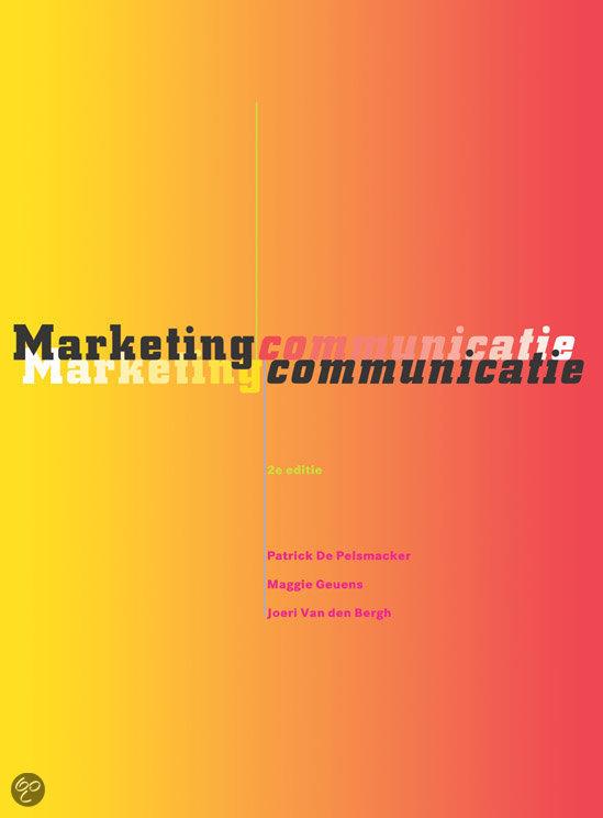 Marketingcommunicatie