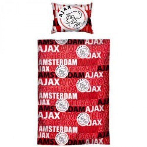 Ajax dekbedovertrek 100 x 135 cm 1 sloop rood for Ajax kussen