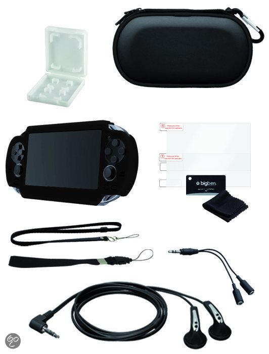 Bigben Accessoirepakket Zwart PS Vita