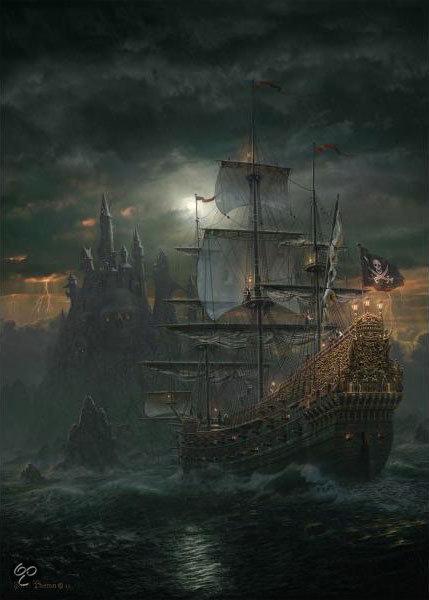 bol.com | Schmidt Puzzel - Piratenschip,Schmidt