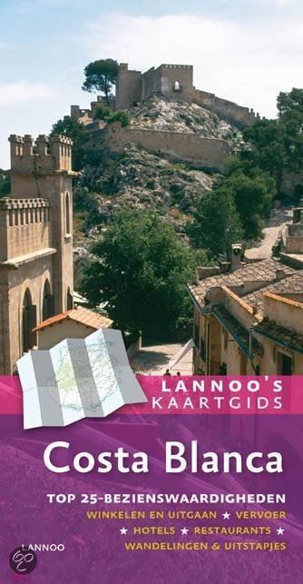 Lannoo's kaartgids Costa Blanca + Plattegrond