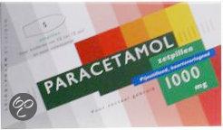 Leidapharm Paracetamol 1000 mg - 5 Zetpillen - Pijnstillers