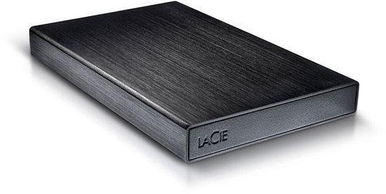 LaCie Rikiki - Externe schijf - 1 TB / USB 3.0 / Zwart