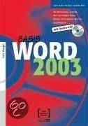 Basis Word 2003. Mit Daten-Cd!