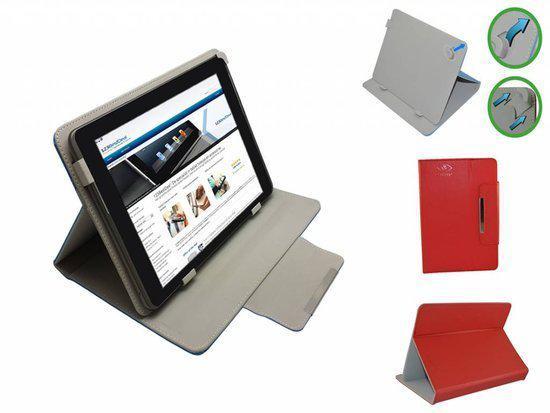 Samsung Galaxy Tab 3 Lite 7.0 Diamond Class Cover, Elegante stevige Hoes, Rood, merk i12Cover in Oranje