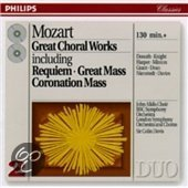 Mozart: Great Choral Works / Davis, Donath, Knight, et al