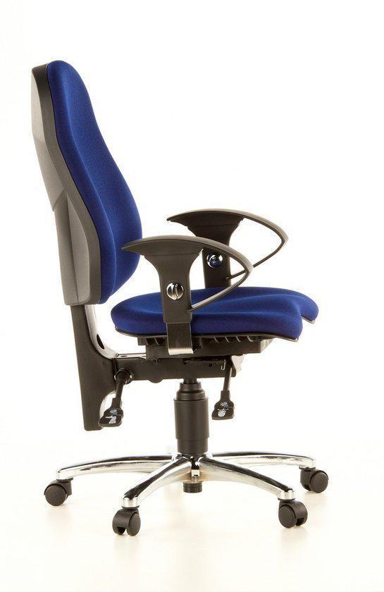 topstar sitness 10 bureaustoel ortopedisch blauw. Black Bedroom Furniture Sets. Home Design Ideas