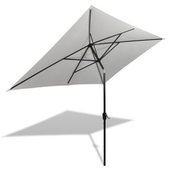 vidaxl parasol 40772 parasol zia vierkant 200 x 300 cm zandwit. Black Bedroom Furniture Sets. Home Design Ideas