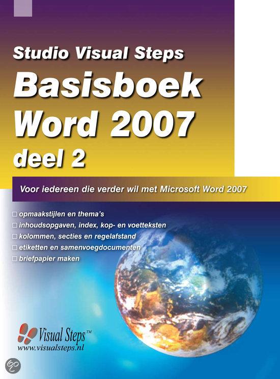 Basisboek Word 2007 / 2