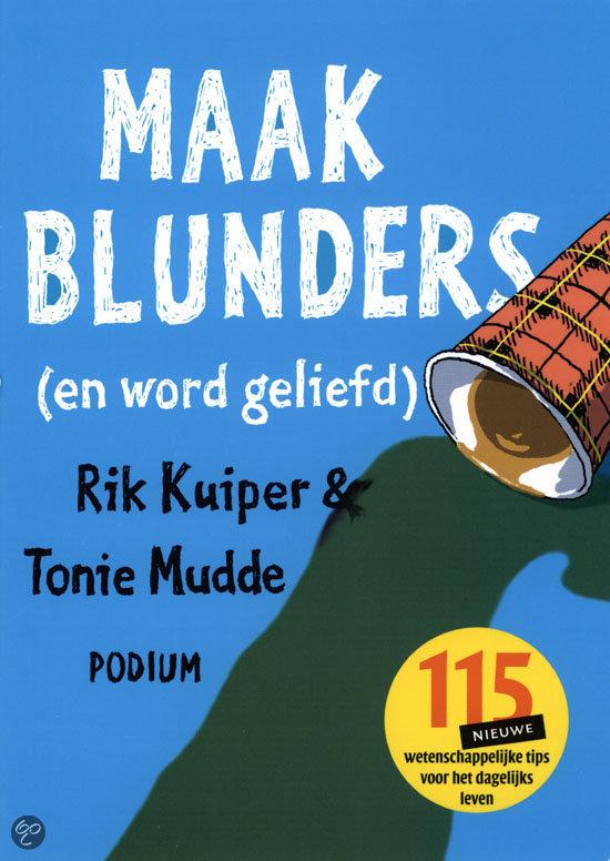 Maak Blunders (En Word Geliefd)