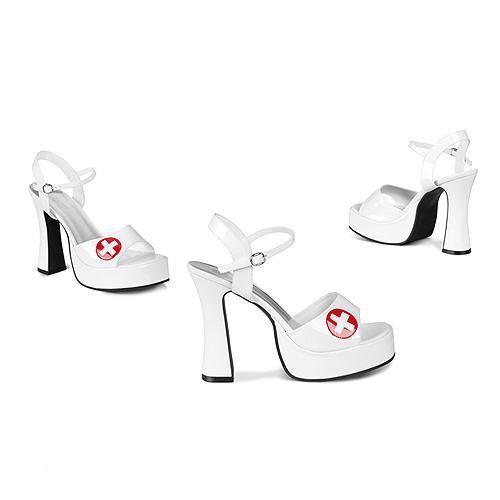 Chaussures Infirmière Avec Croix Rouge PMd0U