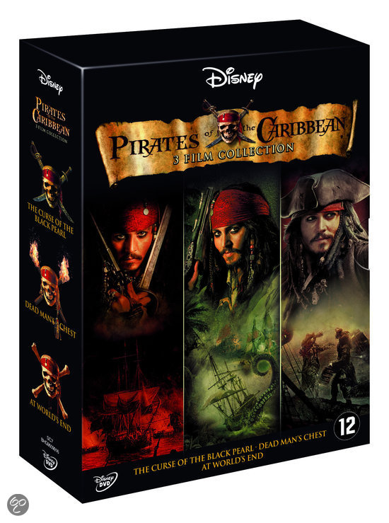 Pirates Of The Caribbean 1-3 (Dvd)