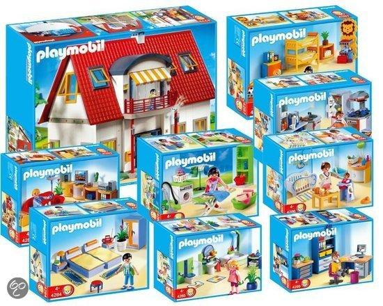 bol.com | 1674 Playmobil bundel Modern Woonhuis + ALLE ...