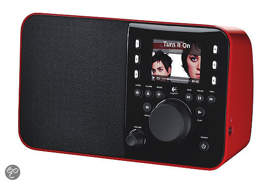 Logitech Squeezebox Radio - Rood