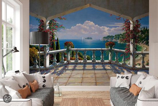 Villa de vista 8 delig fotobehang 368 x 254 cm - Deco kinderkamer ...