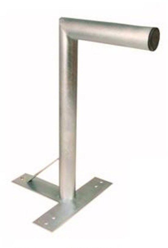 Blueqon WMT57 60mm L-Buis Muurbeugel T