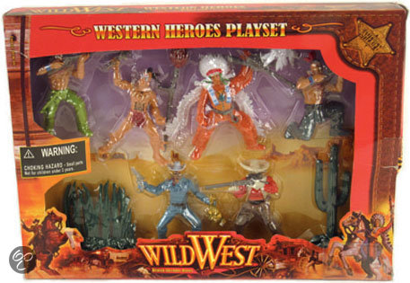Wild West Helden Speelset