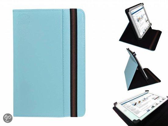 Hoes voor de Hp Omni 10 , Multi-stand Case, Blauw, merk i12Cover in Molenbaix