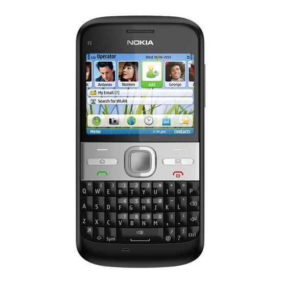 Nokia E5-00 - Carbon Black