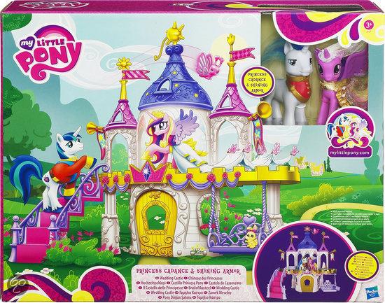 my little pony trouwkasteel hasbro speelgoed. Black Bedroom Furniture Sets. Home Design Ideas