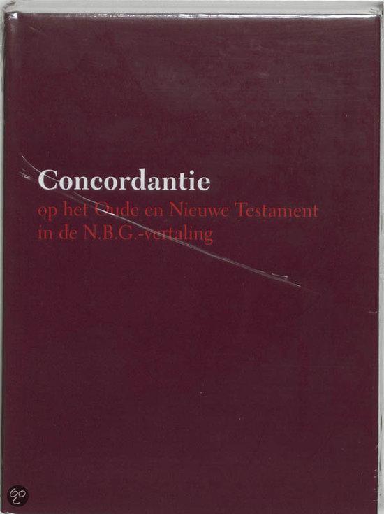 Concordantie op het Oude en Nieuwe Testament