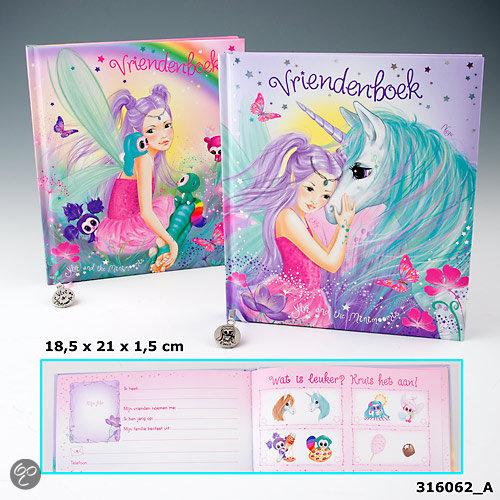 bol ylvi the minimoomis vriendenboek met regenboog