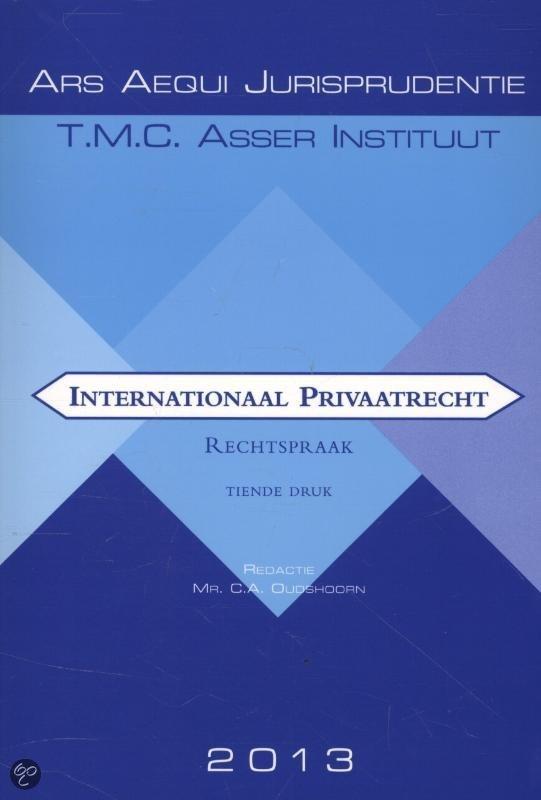 Internationaal privaatrecht / Rechtspraak